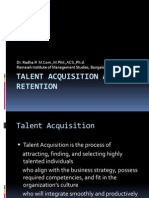 Talent Acquisition and Retention-PPT