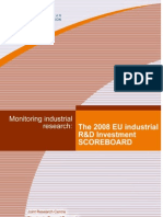 R&D Investment Scoreboard 2008