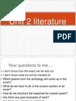 Poetry Exam