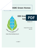 IGBC Green Homes - Abridged Reference Guide (Version 2.0) - April 2012