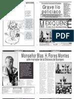 Versión impresa del periódico El mexiquense 15 mayo 2012