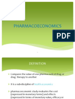 Pharmacoeconomics Ppt