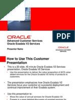 Exadata V2 Services Customer Facing 121709