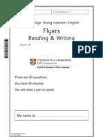 117302 2011 YLE Flyers Reading Writing