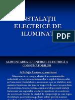 Instalatii Electrice de Iluminat