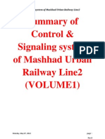 Summary of Control & Signaling Line2 (VOLUME1)