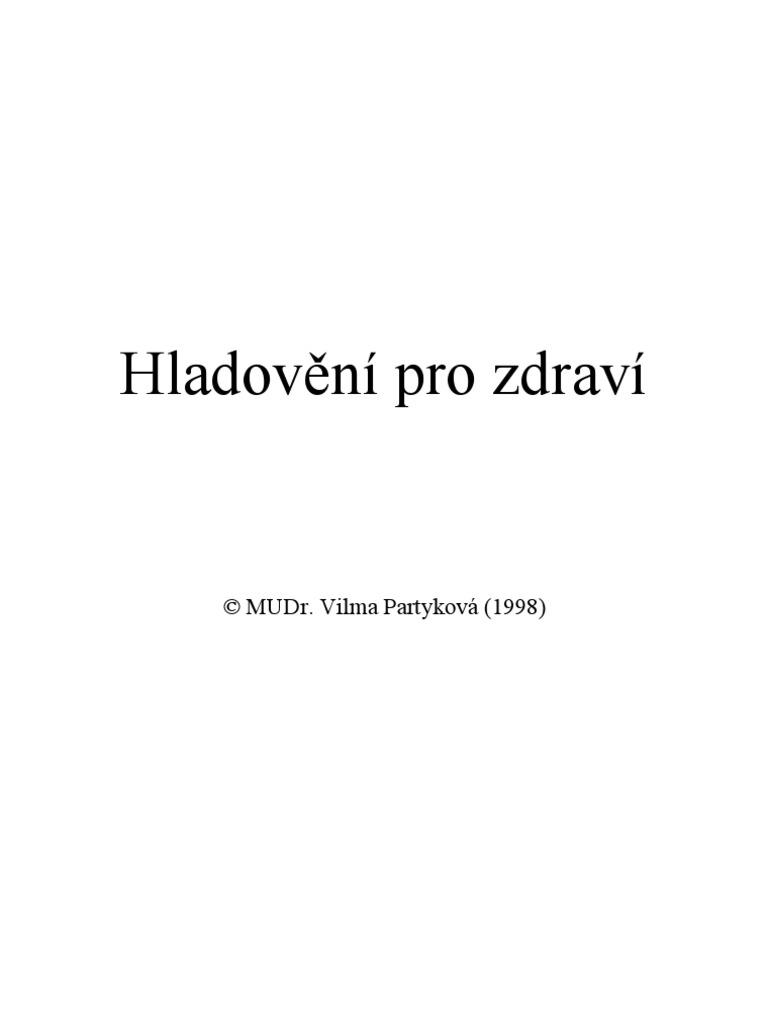 Vilma Partykova - Hladoveni Pro Zdravi c1fff989ac