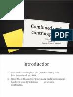 Combined Oral Contraceptive -Bernard