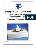 Pandrol DFC - Operation & Maintenance Manual