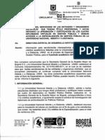Circular 002 2012 Desarrollo Institucional