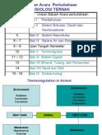 FISIOLOGI TERNAK-Thermoregulasi
