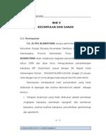 Bab v Kesimpulan Dan Saran_r1
