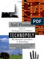 Postman, Neil - Technopoly the Surrender of Culture to Technology