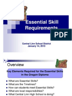 Essential Skills Overview