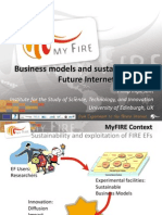 Business Model and Sustainability of Future Internet Initiatives