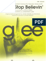 Don't Stop Believin (Perry, Schon, Cain - Anders, Davis) SAB HL Orig
