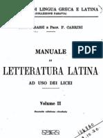 Manuale di letteratura latina ad uso dei licei 2