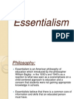 Essential Ism