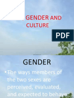Sex, Gender and Culture