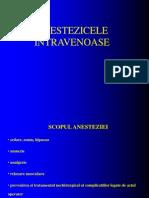 Anestezice IV