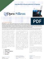 Open Silicon Pakistan Brochure
