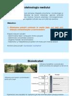 Biotehnologia mediului 2011-2012