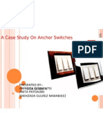 A Case Study on Anchor Switches