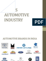 INDIA'S AUTOMOTIVE INDUSTRY