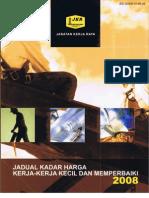 Jadual Kadar Harga (JKR 2008)