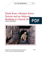 AY17-1 Roman Sewer Finds