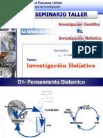 Resumen del Investigación Holística V 2.0 - Seminario Taller