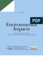 UBSRSI Environmental Impact