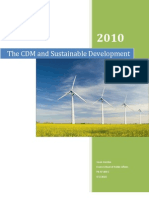 Clean Development Mechanism CDM DP Final