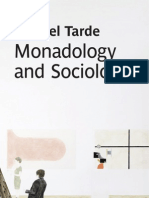 Monadology and Sociology 2012 Tarde