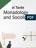 Monadology and Sociology 2012 Tarde