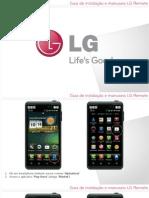 Guia de Instalação e Manuseio LG Remote
