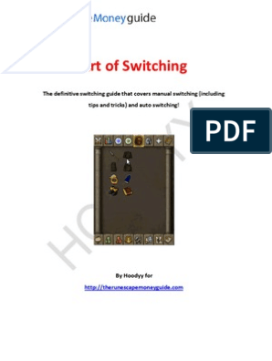 Switching on RuneScape: A guide which covers manual and auto
