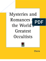 Cheiro's Mysteries Romances World Greatest Occultists