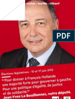 Tract annonce de candidature