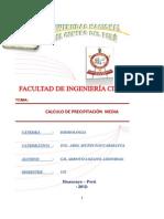 GIL ARROYO LOZANO LEONIDAS Trabajo Capitulo II Precipitacion