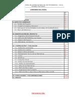 Perfil Huayuacachi Primer Informe