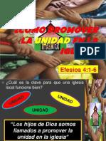 Cómo mantener la UNIDAD en la iglesia