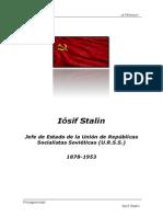 1878-1953 Iósif Stalin