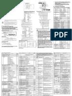 VFDLSeriesInstructionSheet