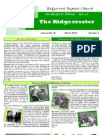 Ridgecrester March