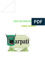 Test de Perceptie - Tigari Carpati