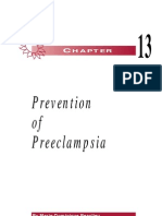 Prevention of Preeclampsia