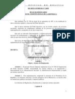Decreto Supremo 24855