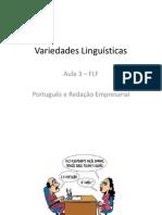 Variedades Linguísticas