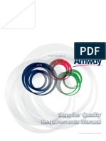 Supplier Quality Requirements Manual AMWAY